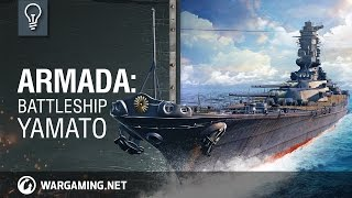 The Yamato is a real sea monster with the height of a 17 story building, 72000 tons of steel and equipped with monstrous guns. Watch this episode of Armada to ...