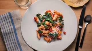 One-Skillet BLT Pasta