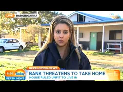 Bank Threatens to Take Home | Today Perth News