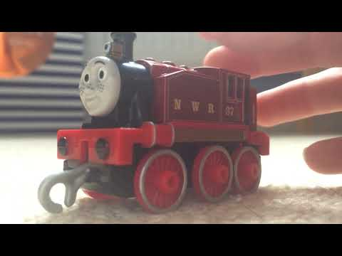 Trackmaster Push Along Red Rosie Review