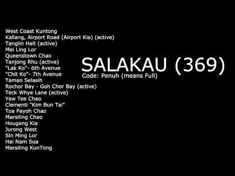 Salakau (369) Society Branch & Gang Chants