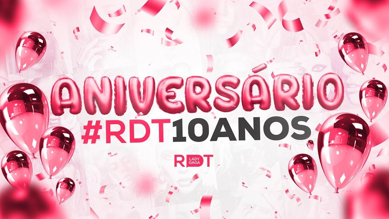 Aniversário #RDT10anos