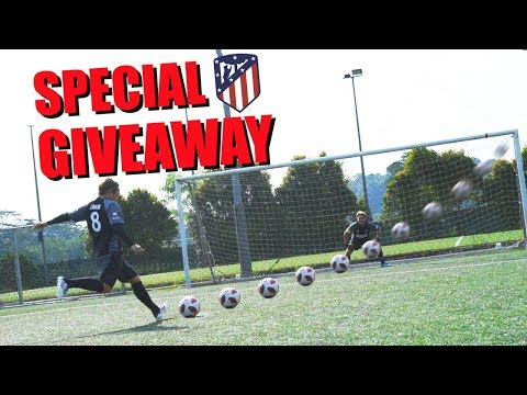 Penalty shootout challenge + giveaway