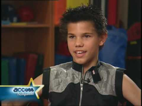 Taylor Lautner Interview