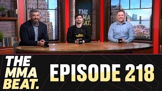 The MMA Beat: Episode 218 (GSP Retires, Future for Cain Velasquez, Adesanya-Gastelum, More)