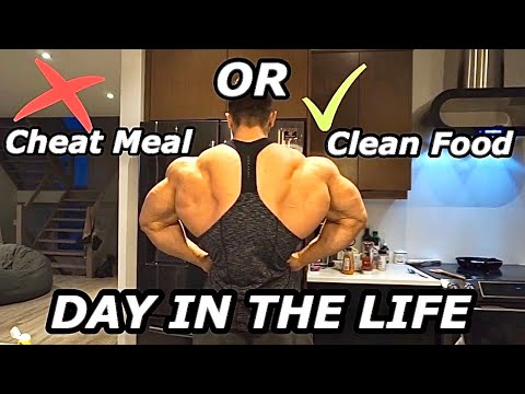 MY CURRENT SHREDDING DIET FOR ROMANIA PRO! 10 DAYS OUT ARE CHEAT MEALS GOOD? thumbnail
