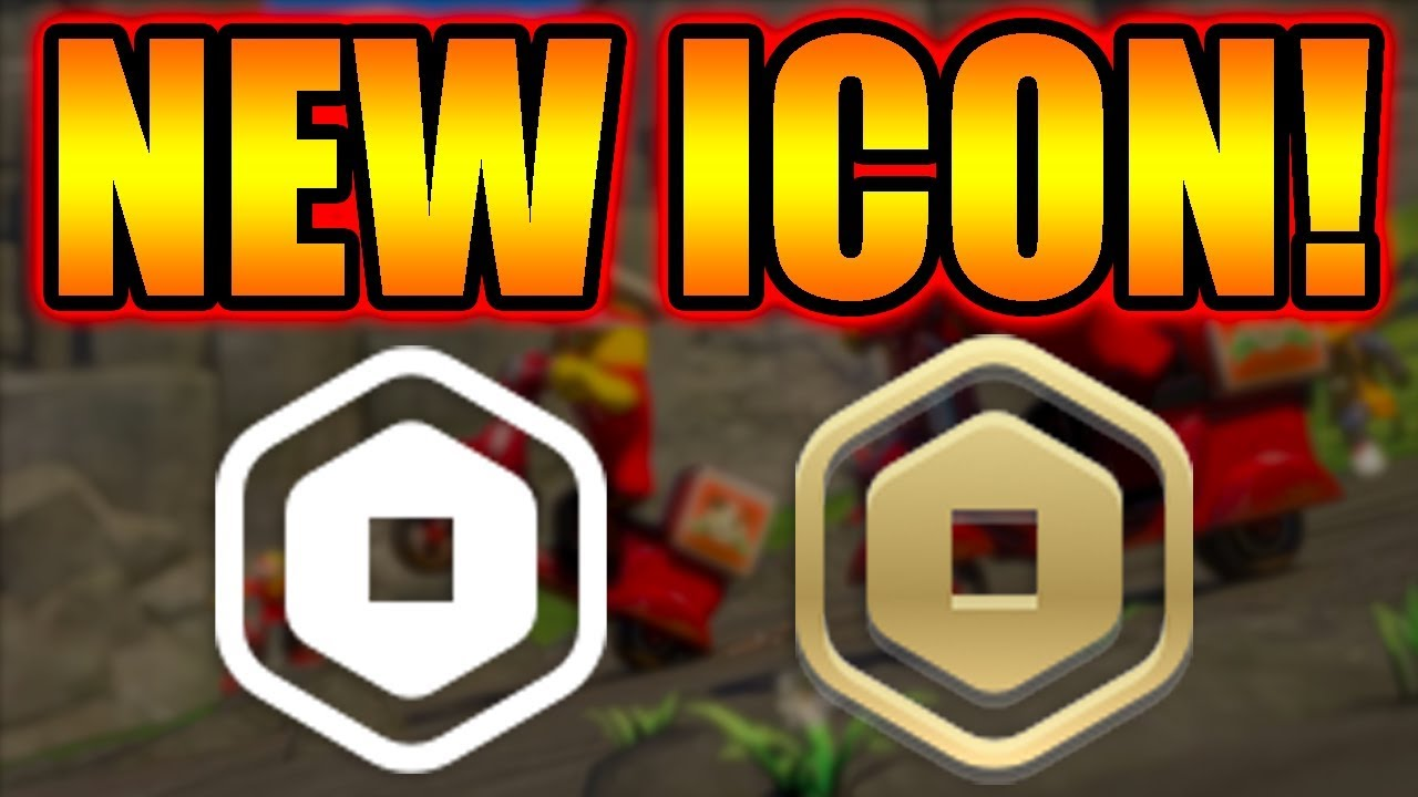 *LEAK* NEW ROBUX ICON IN ROBLOX! -