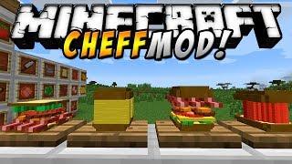 Minecraft - COCINA MOD! (Sandwiches gigantes a tu estilo propio!) - ESPAÑOL TUTORIAL