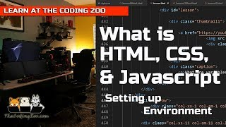 The Coding Zoo - What is HTML, CSS, and Javascript : HTML Tutorial for Kids / Beginners : Mp3