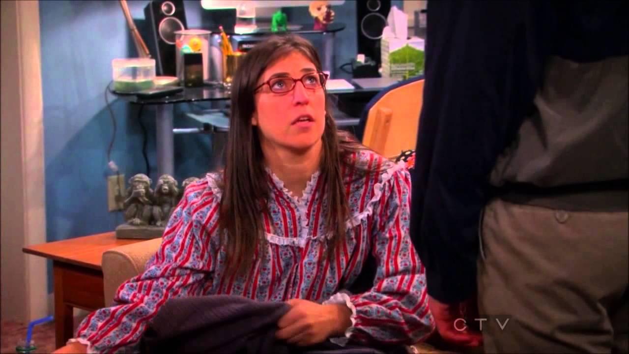 The Big Bang Theory Amy Farrah Fowler Is A Bad Girl Youtube