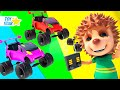 New 3D Cartoon For Kids ¦ Dolly And Friends ¦ Play with Toy Car #75