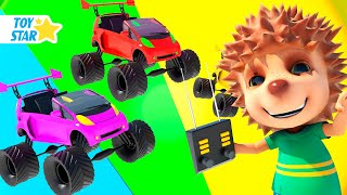 New 3D Cartoon For Kids  Dolly And Friends  Play with Toy Car 75