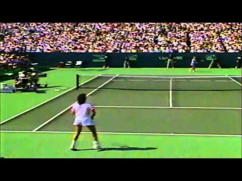 Chris Evert vs Gabriela Sabatini 1989 Lipton final