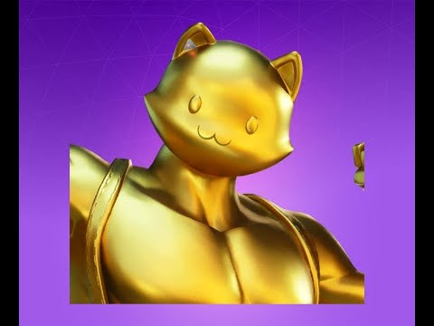 Fortnite (LEVEL 208 GOLDEN MEOWSCLES) CHALLANGES AND XP