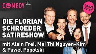 Die Florian Schroeder Satireshow vom 12.11.2019 mit Alain, Mai Thi, Achim alias Pawel