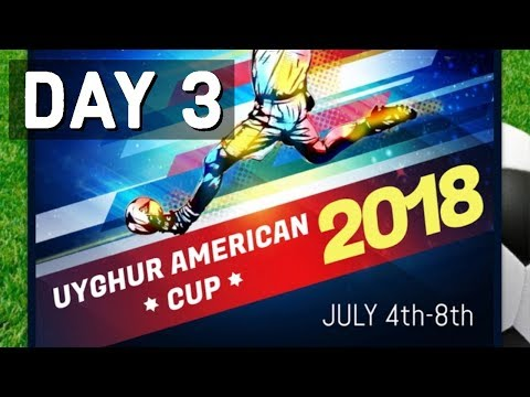 UYGHUR AMERICAN CUP 2018 LIVE!! DAY 3