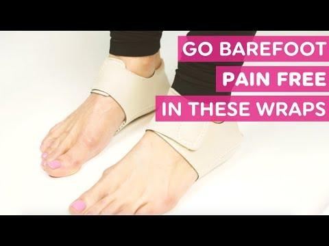 These Barefoot Heel Wraps Reduce Pain From Plantar Fasciitis and Heel Spurs