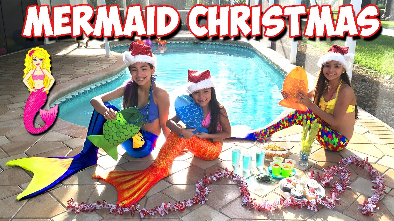 Magical MERMAID Christmas | Surprise Christmas Gifts from A Real ...