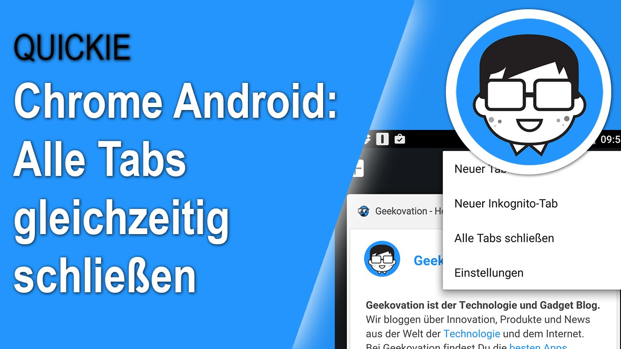 Chrome Alle Tabs Schließen Android