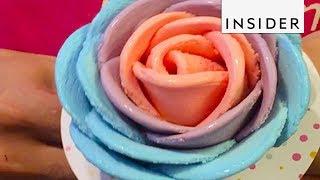 Ice Cream That Looks Like Flowers