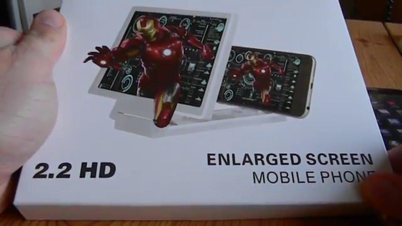 Smartphone Cinema Lupe Bildschirm Vergrößerung Hd Zoom Youtube