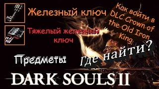 Скачать Где найти Тяжелый железный ключ как войти в DLC Crown Of The Old Iron King Dark Souls II
