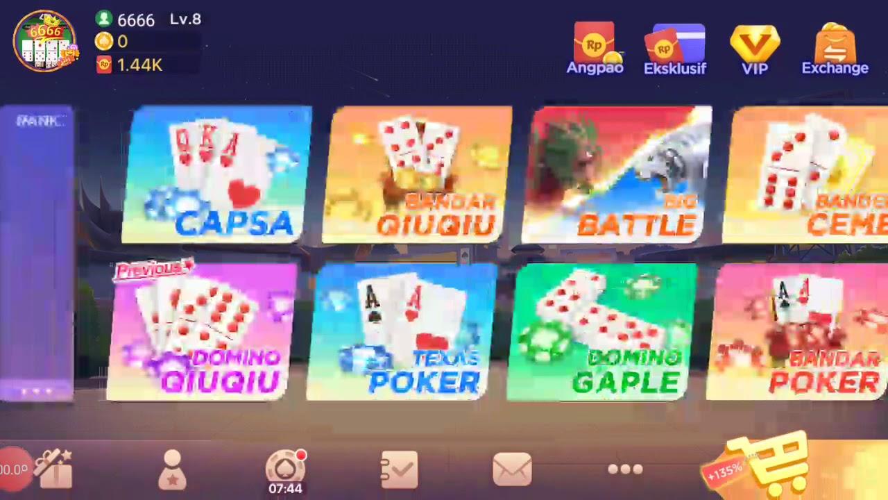 Main Domino Qiu Qiu Dapat Kartu Bagus Youtube
