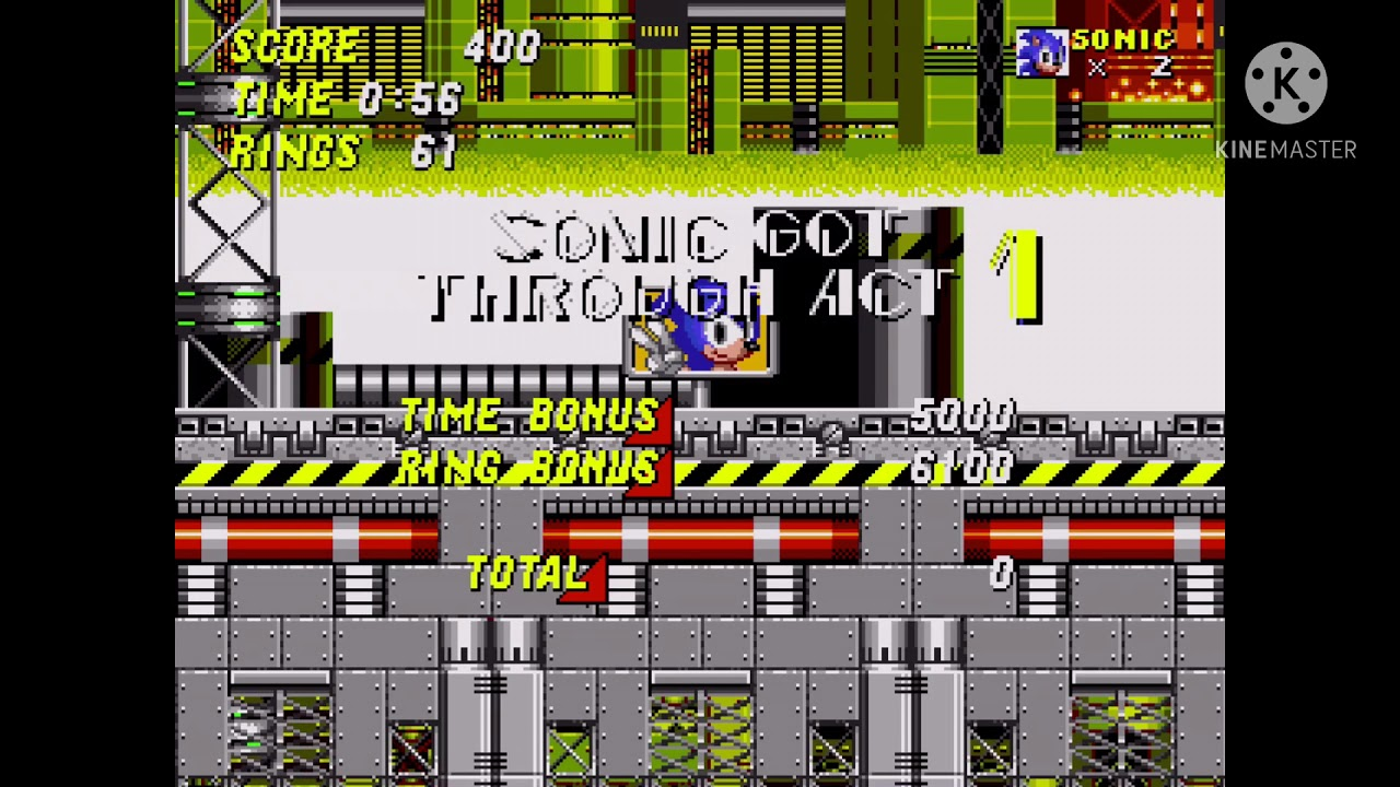 Download Sonic 2 Chemical Plant Zone but it's Reversed