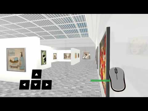 Virtual Art Expo - 3D Modern Art Gallery 9 27 14