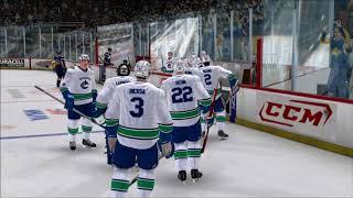 Retropelailua NHL 2K8 (kaksinpeliä)