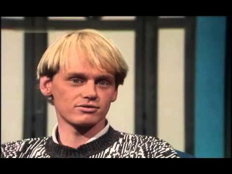 Thomas Gottschalk im Gespräch mit Skirennläufer Markus Wasmeier 1987