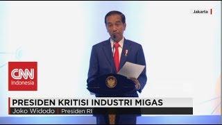 presiden jokowi kritisi industri migas