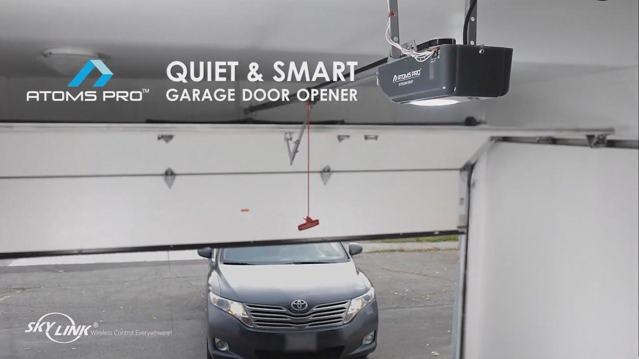 Atoms Pro Garage Door Opener By Skylink Group Youtube
