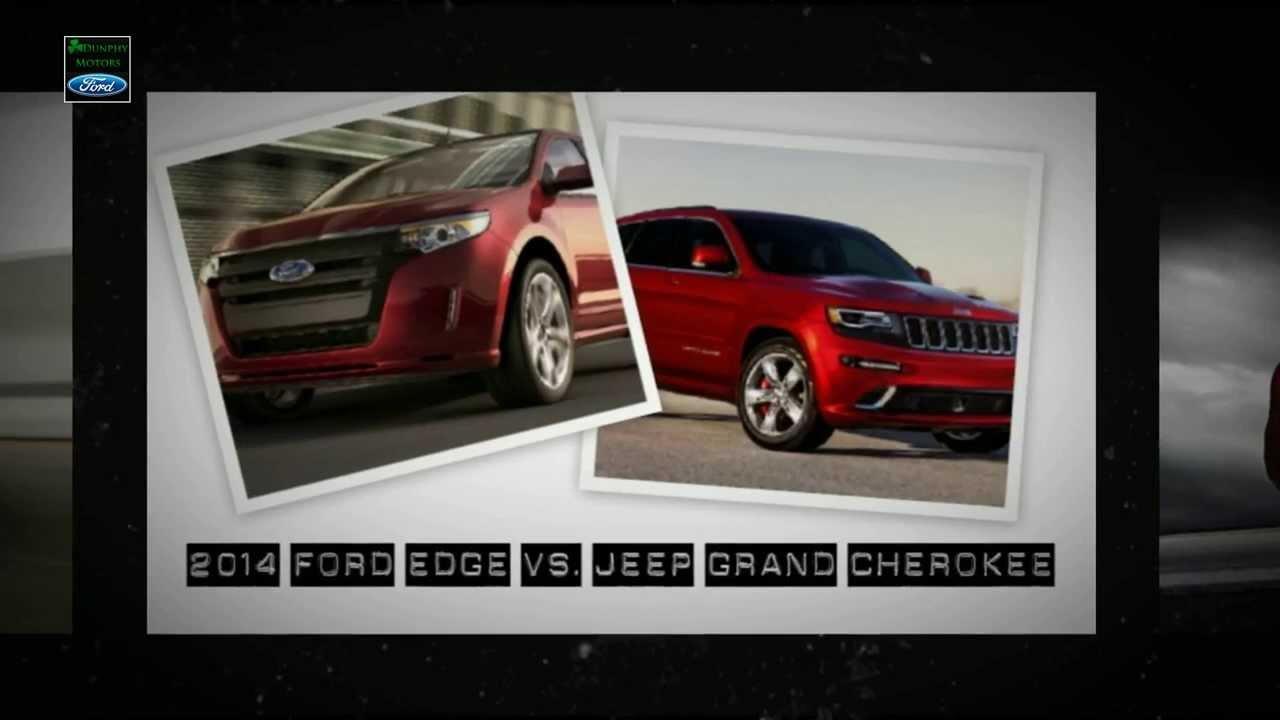 2014 ford edge vs jeep grand cherokee youtube. Black Bedroom Furniture Sets. Home Design Ideas