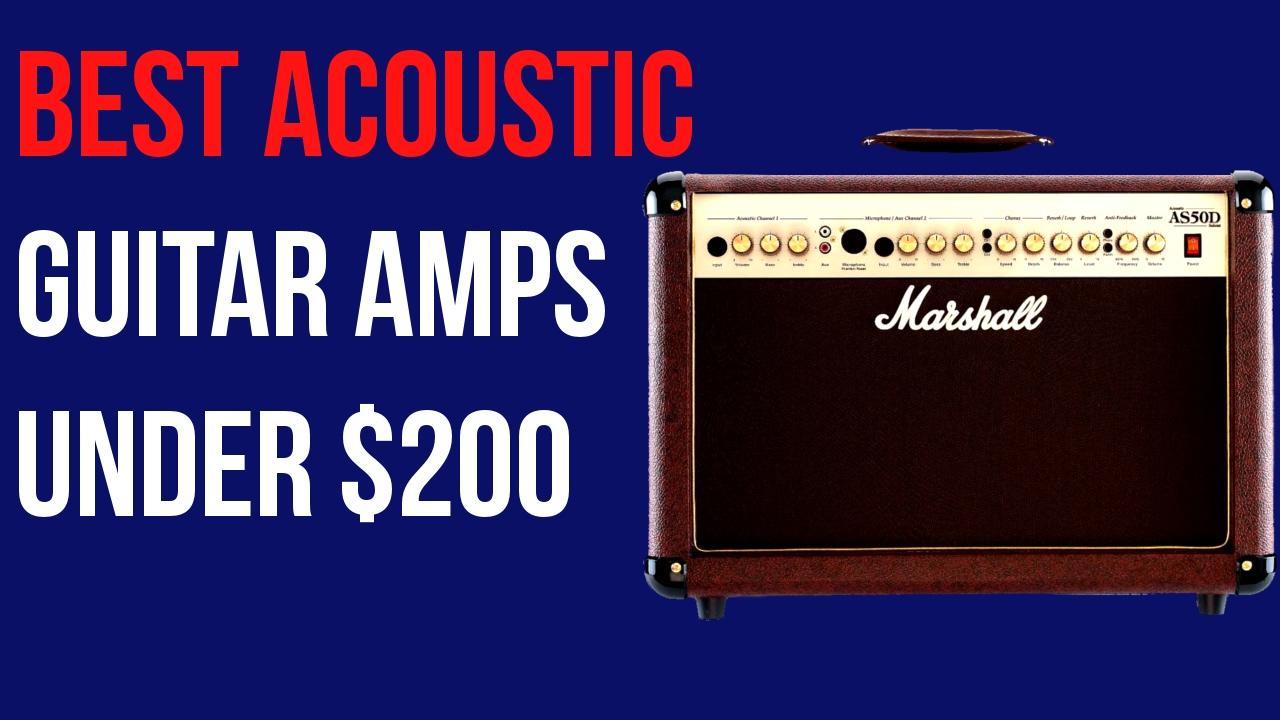 Best Guitar Amp Under 200 : best acoustic guitar amps under 200 2017 youtube ~ Russianpoet.info Haus und Dekorationen