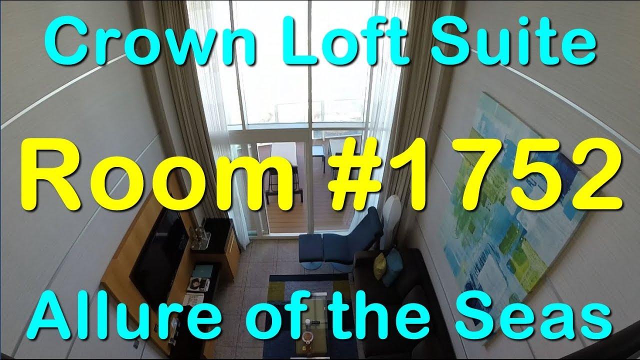 Download Allure of the Seas - Crown Loft Suite - Room #1752
