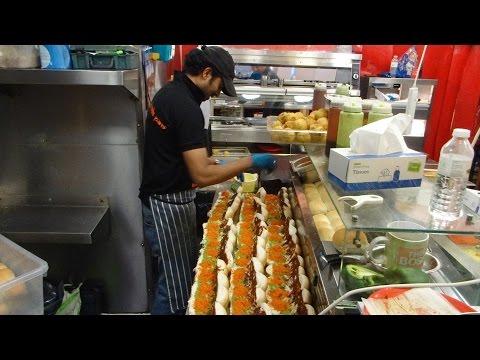 Indian Street Food: buying the cheapest Vada Pav in London & UK for £1.00 at Shree Krishna Vada Pav