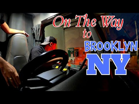 DELIVERY IN BROOKLYN NEW YORK PART 2 | PINOY TRUCKER in ALBERTA  🇨🇦