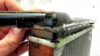 замена радиатора печки на шевроле ниве
