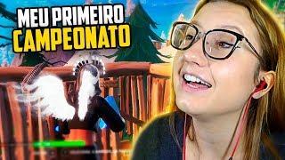 CHERRYGUMMS - MEU PRIMEIRO CAMPEONATO DE FORTNITE!