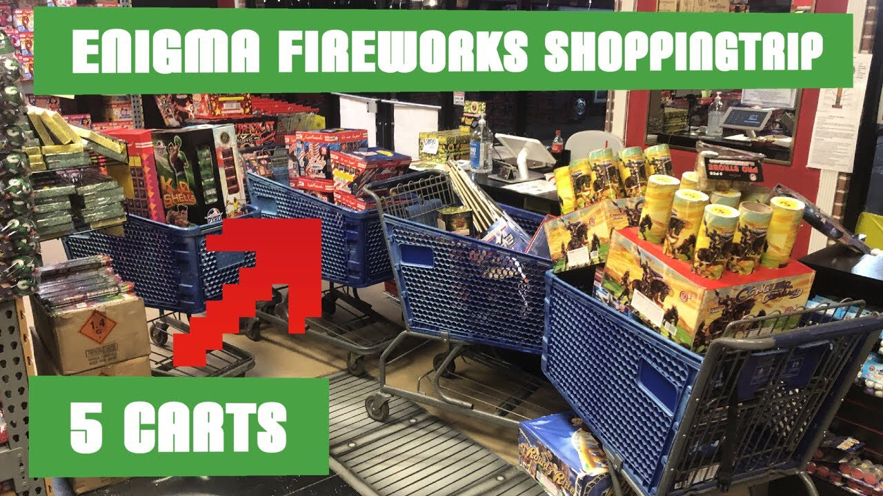 Enigma Fireworks Store Tour/Shopping Trip