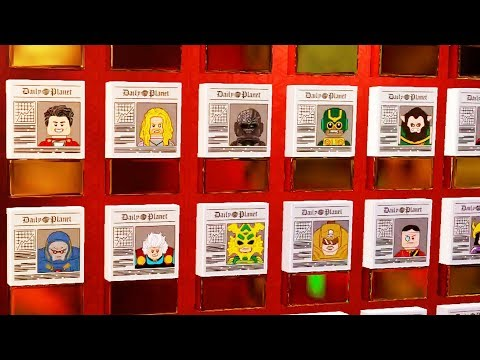 Every Minikit Newspaper In LEGO DC Supervillains!