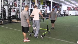 Chris Norton Walking & Balancing #MiracleMonday