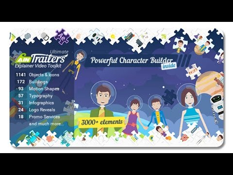 AinTrailers - Ultimate Explainer Video Toolkit | After Effects template