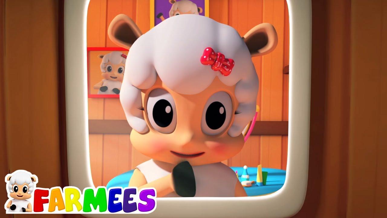 Mejillas cachetonas | Rimas para niños | Farmees Español | Dibujos animados | Canciones infantiles