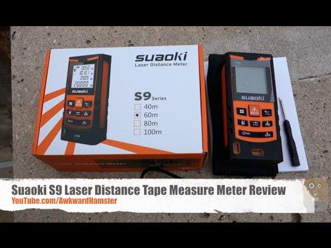 Best Tools: Suaoki S9 Laser Distance Tape Measure Meter Review