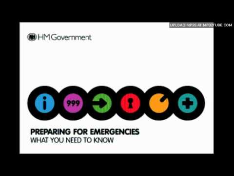 HM Government - Preparing for emergencies (Spoof)