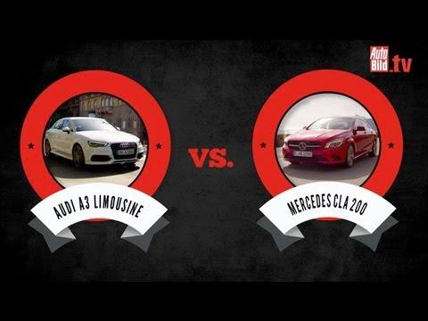 Mercedes CLA 200 vs. Audi A3 Limousine 1.4
