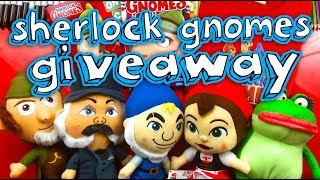 Winners Of The Sherlock Gnomes Art Giveaway