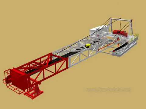 Discovery Drilling Equipment's Drilling Rig   Swing Lift Type